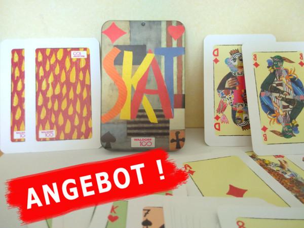 Spielkarten / Skatblatt französisches Blatt