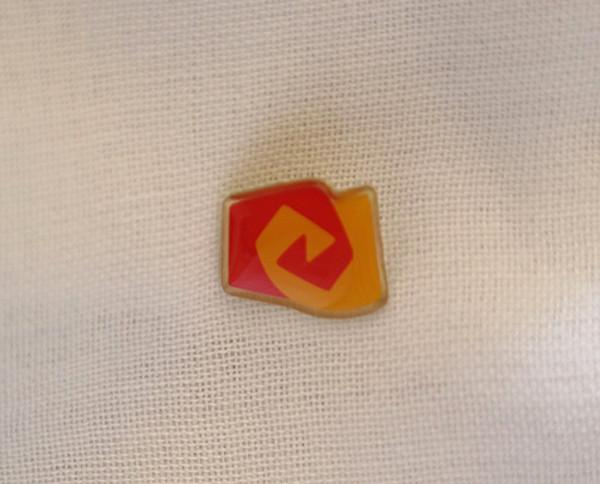"""Ansteckpin mit Logo vom """"Bund der Freien Waldorfschulen"""" - 50 Stück"""