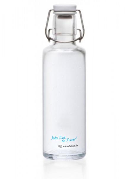 "Trinkflasche ""Save the planet"" - 1 Fl. - 0,6 L, aus Glas"