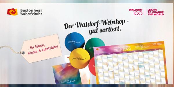 """Flyer """"Waldorf Webshop"""" 10er Pack"""