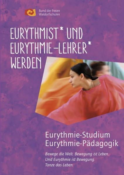 """Faltblatt """"Eurythmist und Eurythmie- Lehrer werden"""" - 1 Stück"""