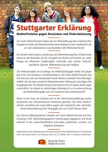 Poster Stuttgarter Erklärung - DIN A4, 10 Stück