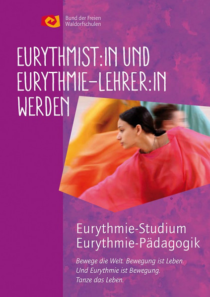 "Faltblatt ""Eurythmielehrer:in werden"""