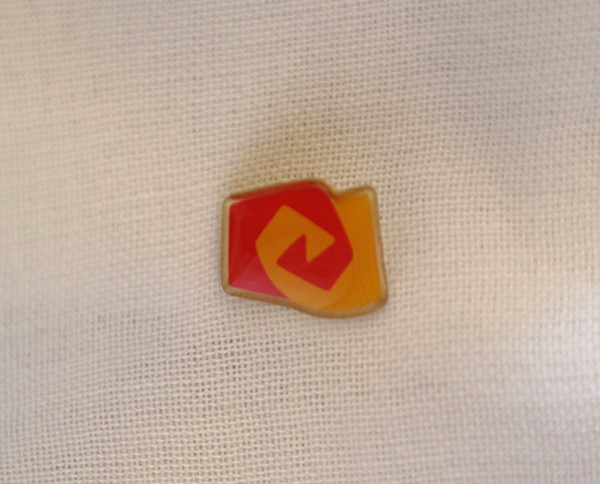 """Ansteckpin mit Logo vom """"Bund der Freien Waldorfschulen"""" - 10 Stück"""