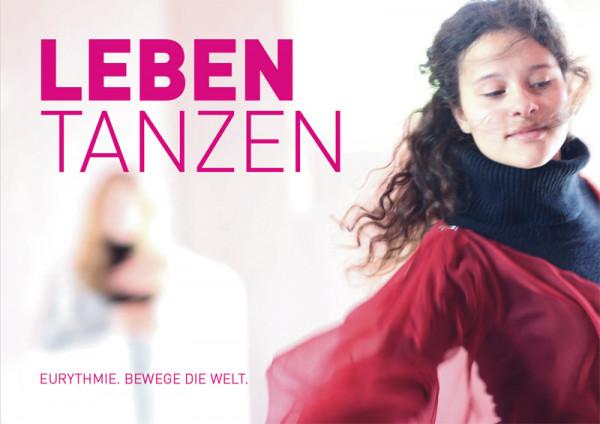 """Postkarte """"Leben tanzen"""" 1 Karte"""