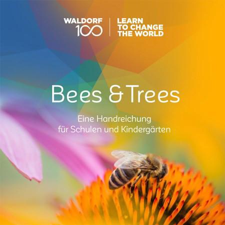 Broschüre Bees & Trees 36 Seiten im Format 21,0 x 21,0 cm