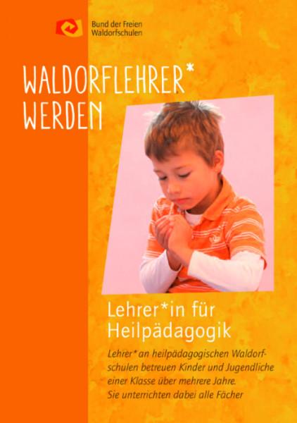 "Faltblatt ""Lehrer/in an heilpädag. Waldorfschulen werden"" - 50 Stück"