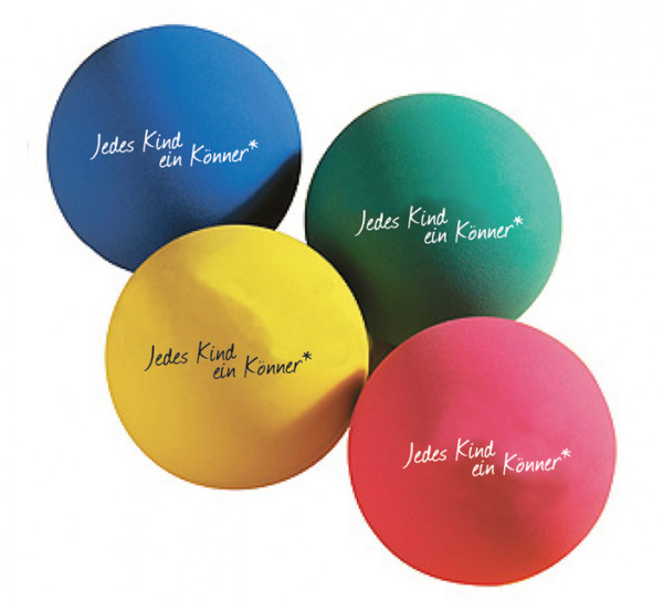 Jonglierbälle in versch. Farben Set, 4 Stück