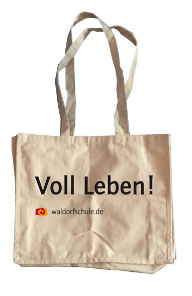 "Baumwolltasche - 1 Stck. ""Voll Leben"""